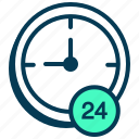 clock, help, support, time, timer, watch icon
