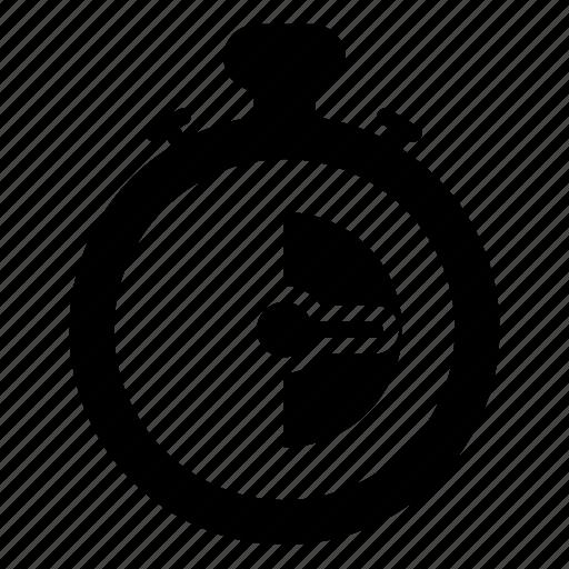 chronometer, sports clock, stopwatch, timepiece, timer icon