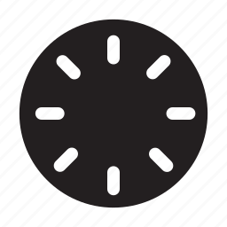 clock, face, hour, time icon