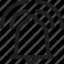 bell, mobile, phone, ringing, ringtone, volume