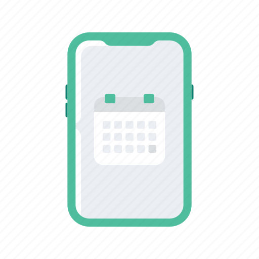 appointment, calendar, date, phone, smartphone icon