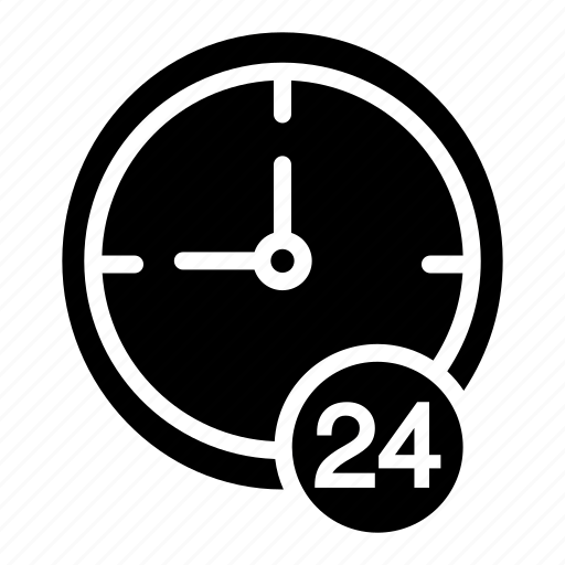 'Time-Black Fill' by sbts2018