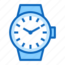 clock, date, time, watch, wristwatch icon
