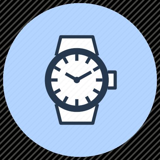 clock, date, time, watch, wristwatch icon