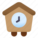 house, time, home, clock, building