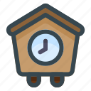 house, time, home, clock, building, watch, estate