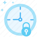 clock, safe, security, session time, time