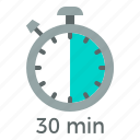 clock, stopwatch, time, timer icon