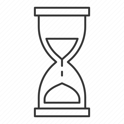 clock, hourglass, time, timer icon