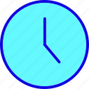 alarm, clock, deadline, hour, time, timer, watch icon