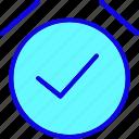 alarm, alert, clock, mark, notification, time, timer icon