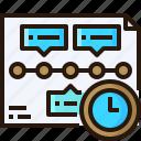 clock, timetable, analytics, business, timeline