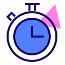 result, sport, stopwatch, timer icon