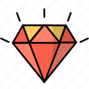 business, diamond, discount, gem, sale, special offer icon