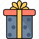 box, gift, internet, online, present, shopping icon