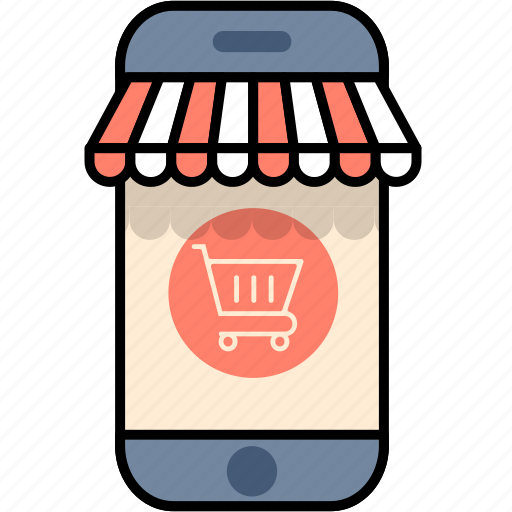 buy, mobile, online, phone, shop, shopping, smartphone icon