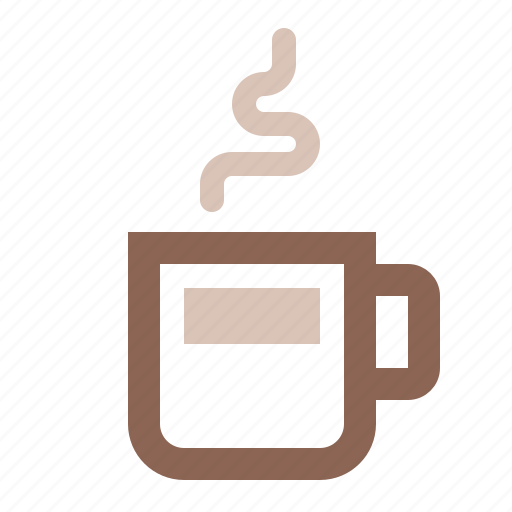 coffee, cup, double, drink, espresso, hot, steam icon
