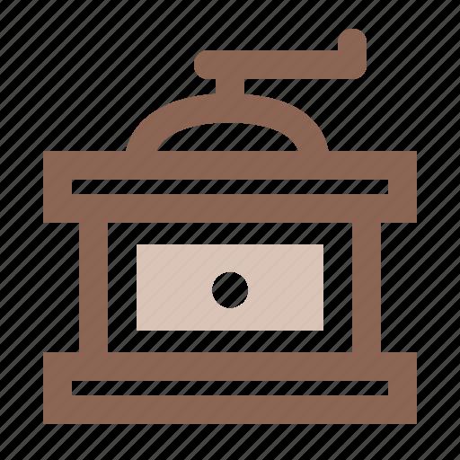 beans, coffee, grind, grinder, mesh icon