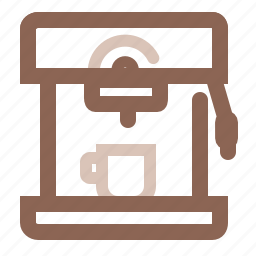 cafe, coffee, drink, espresso, hot, machine, way to make icon