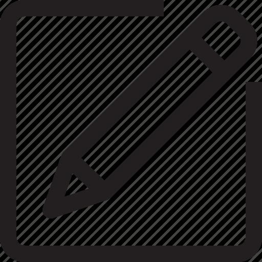 message, write icon