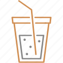 cola, drink, fast food, soda, water icon