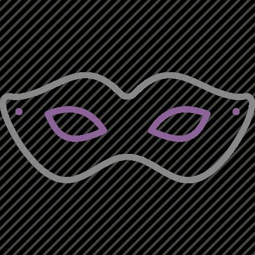 bdsm, eye, mask, woman icon