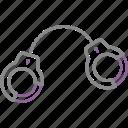 bdsm, cuffs, hand, handcuffs, maso, sado, sadomaso icon