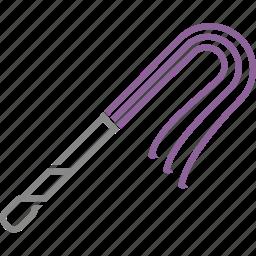 bdsm, maso, pain, pleasure, sado, sadomaso, whip icon