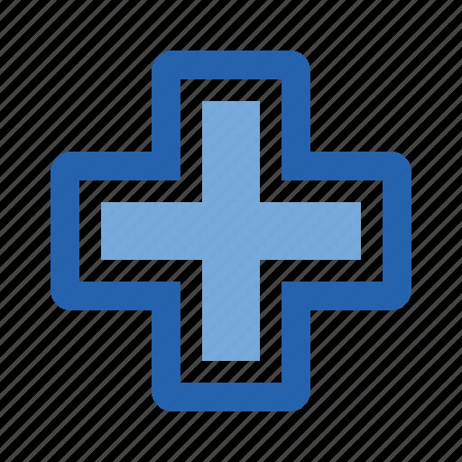 aid, cross, doctor, health, healthcare, hospital, medical icon