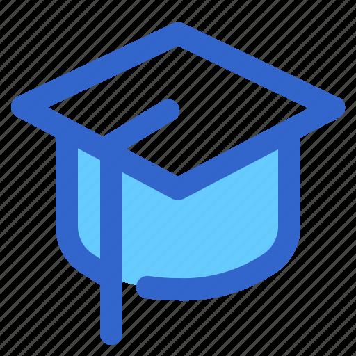 cap, ceremony, education, graduation, pass, school, student icon