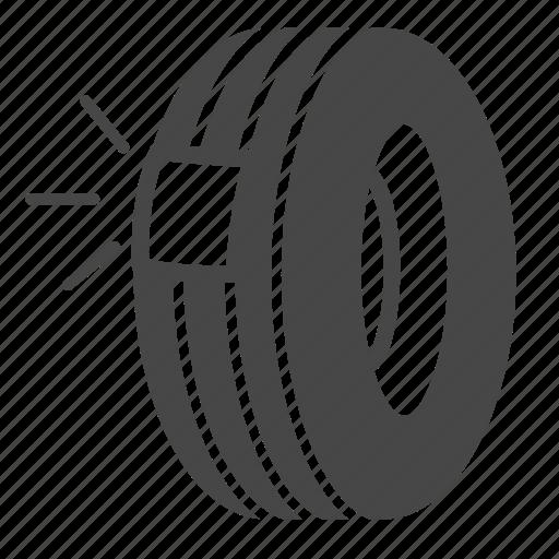 fix, recap, tire, tyre, wheel icon