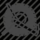 car, lock, part, tire, tyre, wheel icon