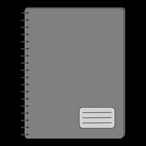 copybook, education, notebook, notes, school icon