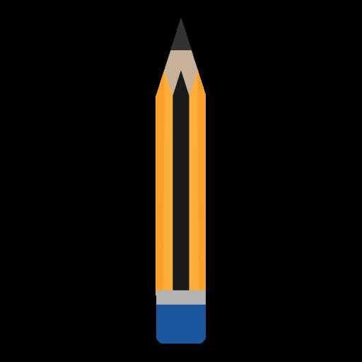 Draw, education, eraser, pencil, school icon - Free download