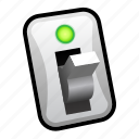 active, switch, toggle icon