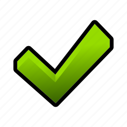 checkmark, done, ok, toggle, verified icon