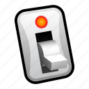 switch, inactive, toggle icon
