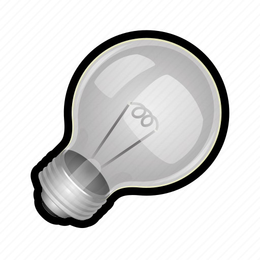 bulb, light, lightbulb, off, toggle, unlit icon