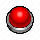 answer, toggle, alert, red, quiz icon