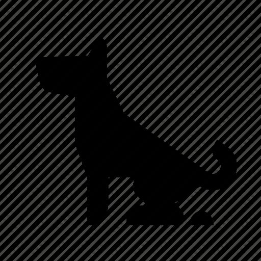 dog, pet, restroom, shit, wc icon