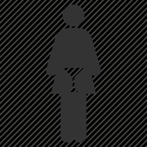 bathroom, female, lady room, lavatory, sanitary, washroom, woman restroom icon