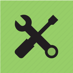 screwdriver, settings, tool, work icon