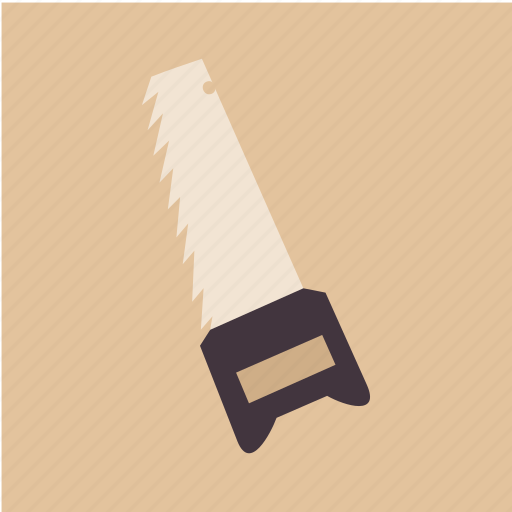 cut, saw, tool, work icon