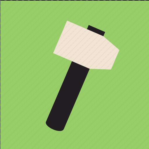 gavel, hammer, mallet, tool icon