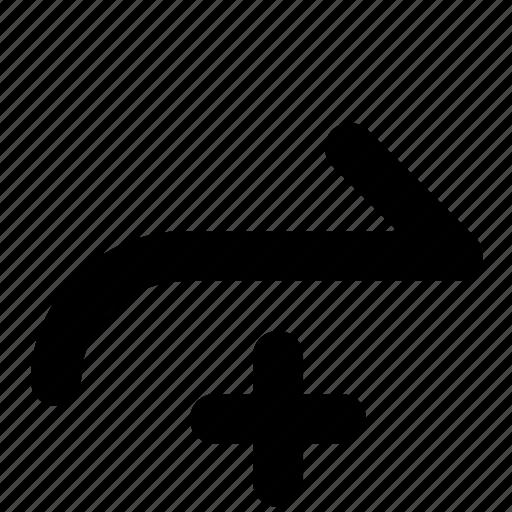 arrow, next, redo icon