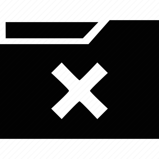 close, documents, exit, folder, remove icon