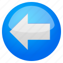 arrow, arrows, back, history, left, previous, undo icon