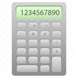accounting, add, balance, business, calc, calculate, calculation, calculator, count, counter, financial, math, mathematics, number, numbers, plus, school icon