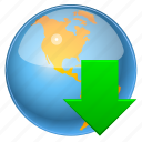 arrow, browser, connection, direction, disk, down, download, downloads, earth, file, global, globe, guardar, load, map, navigation, planet, refresh, save, seo, sphere, storage, travel, universe, upload, world icon