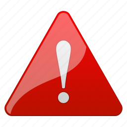 accident, alarm, alert, attention, beware, caution, cautious, damage, danger, error, exclamation, exit, hazard, important, problem, prompt, risk, safe, safety, signal, stop, warning icon